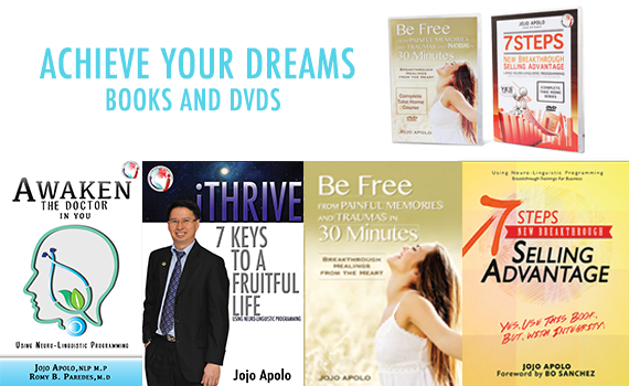 Achieve Your Dreams with our Books and DVDs
